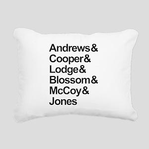 Riverdale Cast Rectangular Canvas Pillow