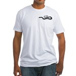 Western Tiger Snake Fitted T-Shirt