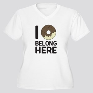 I donut belong here Plus Size T-Shirt