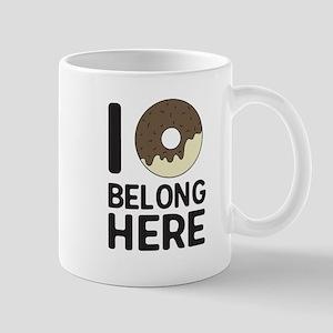 I donut belong here Mugs