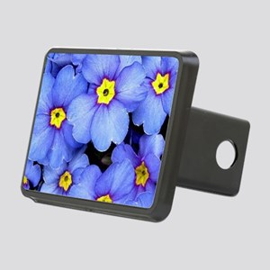 Blue Wildflowers Hitch Cover