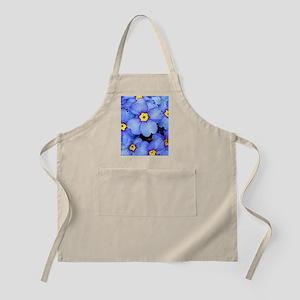 Blue Wildflowers Apron