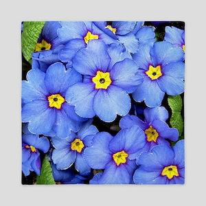 Blue Wildflowers Queen Duvet