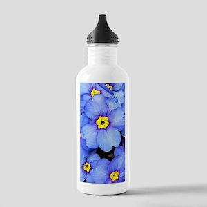 Blue Wildflowers Water Bottle