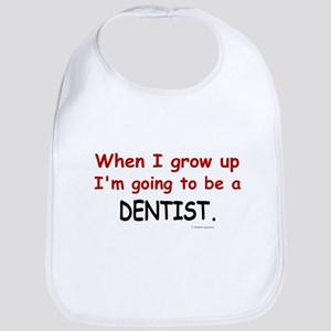 Dentist (When I Grow Up) Bib