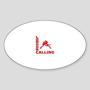 Red London Calling Ulti Sticker