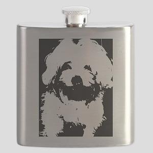 Ozzy the Maltese Dog Flask