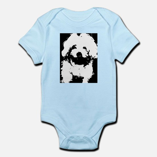 Ozzy the Maltese Dog Body Suit