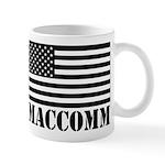 Us Flag Maccomm Mugs