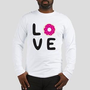 Love donuts Long Sleeve T-Shirt