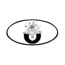 8 Ball Billiard Wolf Patch