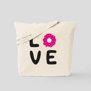 Love donuts Tote Bag