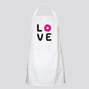 Love donuts Light Apron