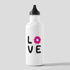 Love donuts Water Bottle