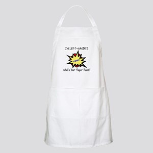 I'M LEFT-HANDED.  WHAT'S YOUR SUPER POWER? Apron