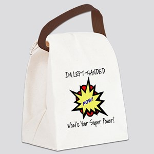 I'M LEFT-HANDED.  WHAT'S YOUR SUP Canvas Lunch Bag
