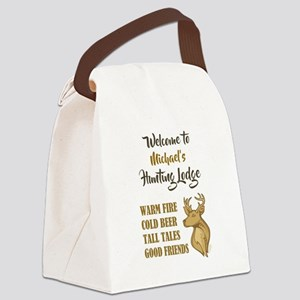 WELCOME TO... Canvas Lunch Bag