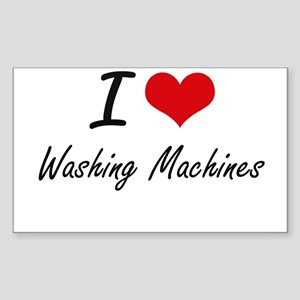 I love Washing Machines Sticker