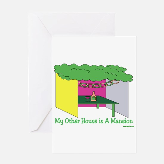 My Other House Is A Mansion Greeting Card