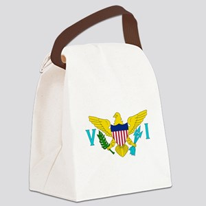 United States Virgin Islands Canvas Lunch Bag