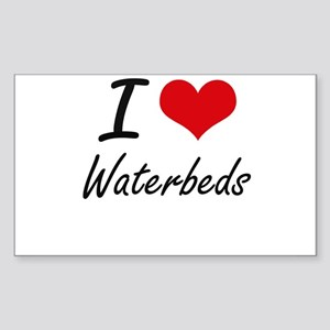 I love Waterbeds Sticker