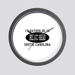 I'd Rather Be in Hilton head, Wall Clock