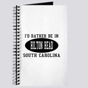 I'd Rather Be in Hilton head, Journal