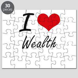 I love Wealth Puzzle