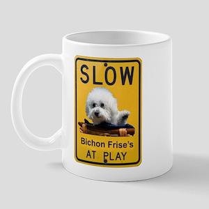 bichons at play Mug