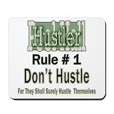 Pool Hall Hustler Rules Mousepad