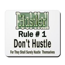 Pool Hall Hustler Rules Mousepad