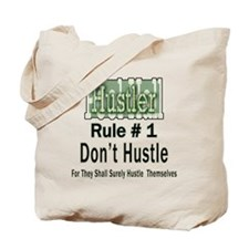 Pool Hall Hustler Rules Tote Bag