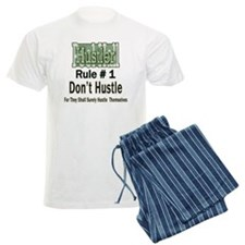 Pool Hall Hustler Rules Men's Light Pajamas
