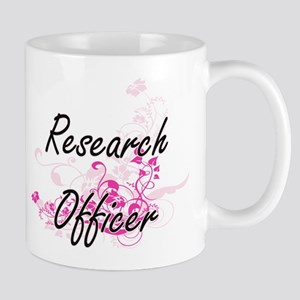 Research Officer Artistic Job Design with Flo Mugs