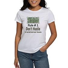 Pool Hall Hustler Rules Women's T-Shirt