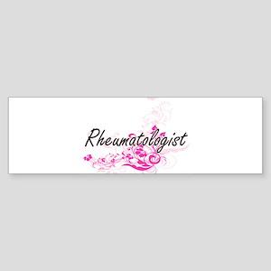 Rheumatologist Artistic Job Design Bumper Sticker