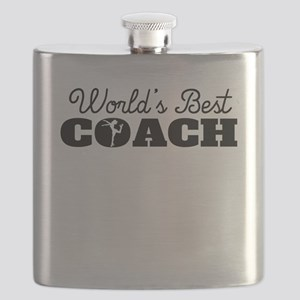 Worlds Best Figure Skating Coach Flask