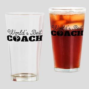 Worlds Best Figure Skating Coach Drinking Glass