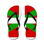 Basque Flag Flip Flops