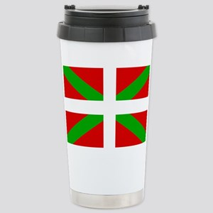 Basque Flag Stainless Steel Travel Mug