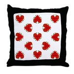 Somebody Loves Me Valentines Throw Pillow