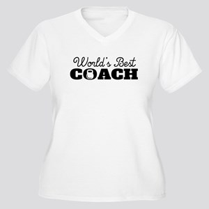 Worlds Best Strength Coach Plus Size T-Shirt