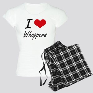 I love Whoppers Women's Light Pajamas