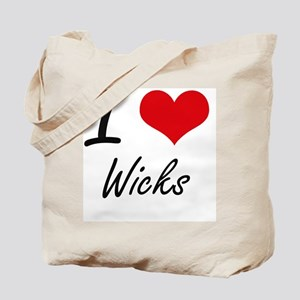 I love Wicks Tote Bag