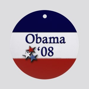 Obama '08 Ornament (Round)