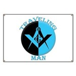 The Traveling Man Banner