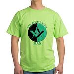 The Traveling Man Green T-Shirt