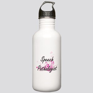 Speech Pathologist Art Stainless Water Bottle 1.0L