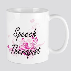 Speech Therapist Artistic Job Design with Flo Mugs