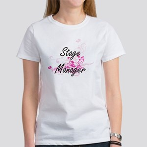 Stage Manager Artistic Job Design with Flo T-Shirt